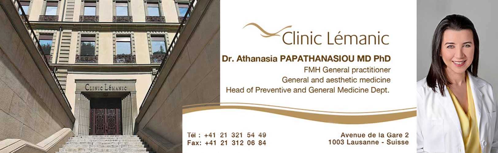 Dr Athanasia Papathanasiou - General practitioner (FMH)